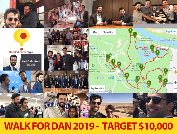 Walk For Dan 2019 route image