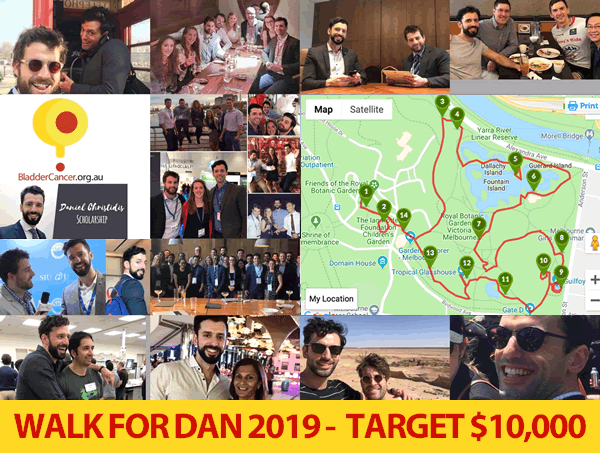 Load images to see Walk For Dan 2019 route
