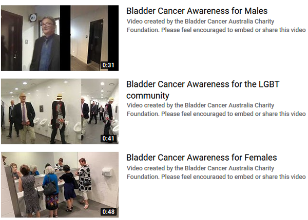 Bladder Cancer Awareness Videos (preview)