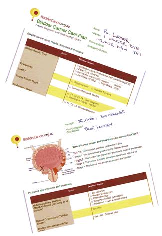 Bladder Cancer Care Plan